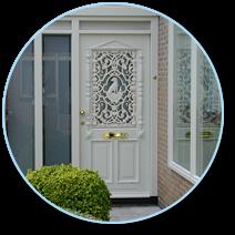 houten deurkozijn